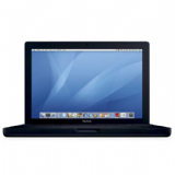 "Refurbished Black Apple MacBook - 13.3"" - Core 2 Duo 2.4 GHz - 250GB - MB404B/A"